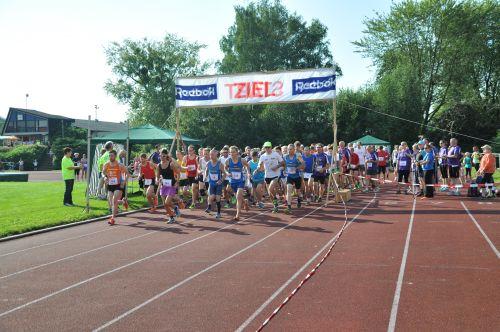 Start 10 km und 22,6 km